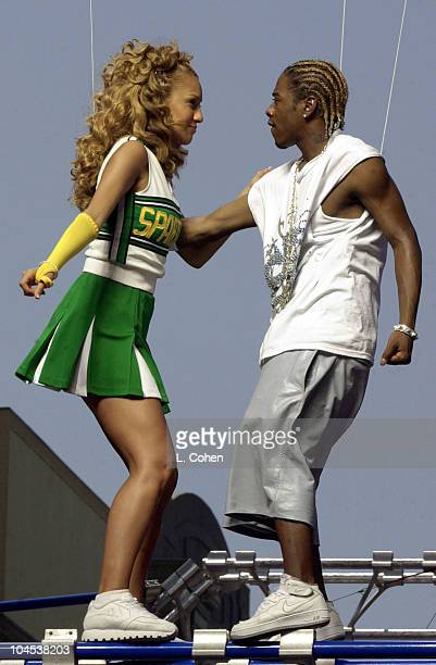 Ivette Sosa Sisqo during Sisqo video 'Dance For Me' at Universal Studios in Universal City California United States
