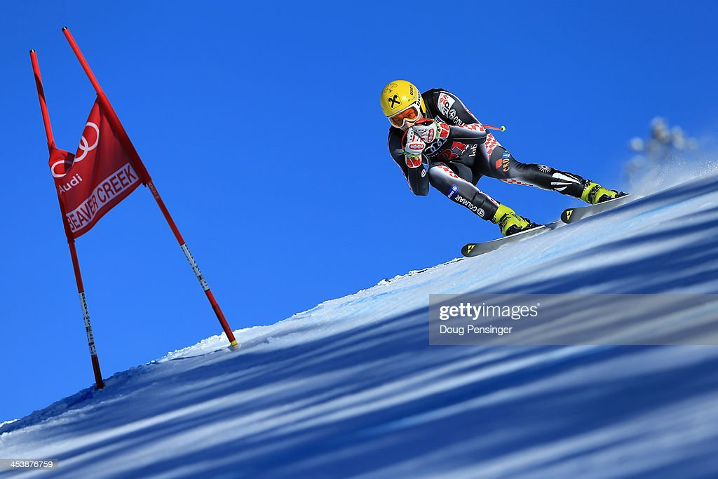<a gi-track='captionPersonalityLinkClicked' href=/galleries/search?phrase=Ivica+Kostelic&family=editorial&specificpeople=241265 ng-click='$event.stopPropagation()'>Ivica Kostelic</a> in action during downhill training for the Birds of Prey Audi FIS Ski World Cup on December 5, 2013 in Beaver Creek, Colorado.