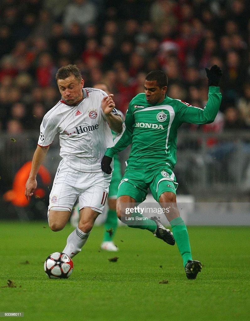 Bayern Muenchen v Maccabi Haifa - UEFA Champions League