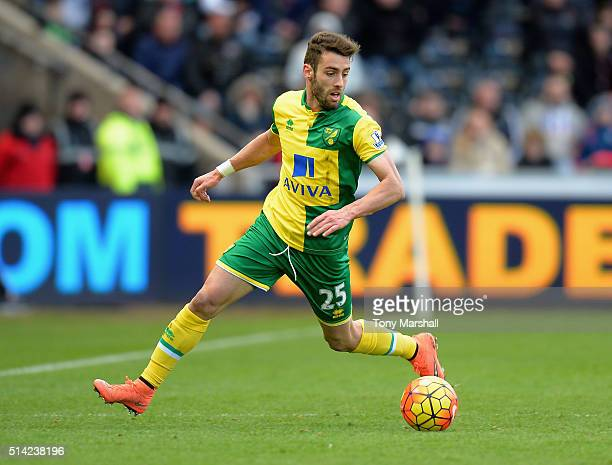 Ivo Pinto of Norwich City during the Barclays Premier League match between Swansea City and Norwich City at Liberty Stadium on March 5 2016 in...