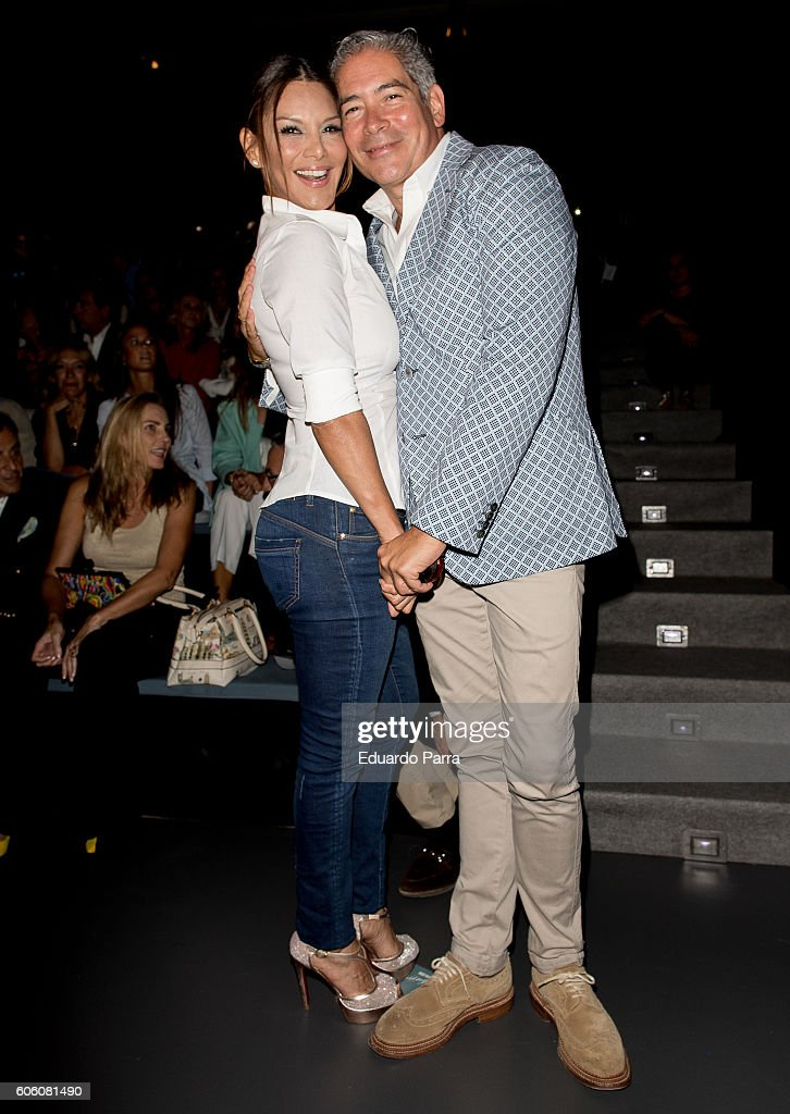 ivonne-reyes-and-boris-izaguirre-are-seen-attending-mercedesbenz-picture-id606081490