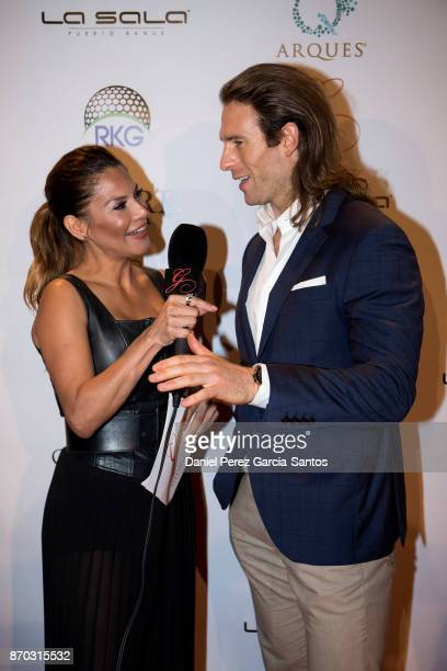 Ivonne Reyes and Craig McGinlay attend at the 2nd Annual Global Gift Ronan Keating Golf Tournament Dinner and Concert on November 04 2017 in Marbella...