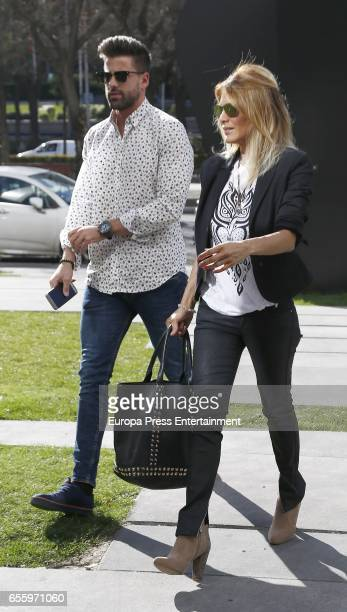 Ivonne Reyes and Sergio Ayala are seen on March 18 2017 in Madrid Spain