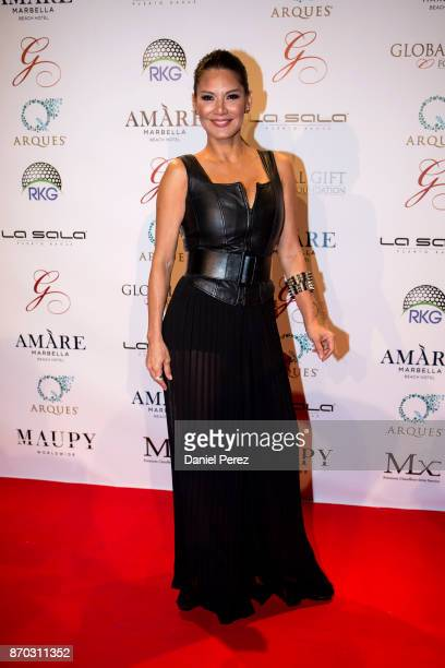 Ivonne Reyes attends at the 2nd Annual Global Gift Ronan Keating Golf Tournament Dinner and Concert on November 11 2017 in Marbella Spain