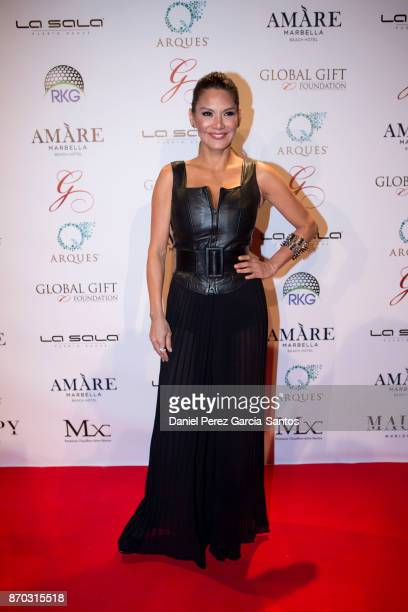Ivonne Reyes attends at the 2nd Annual Global Gift Ronan Keating Golf Tournament Dinner and Concert on November 04 2017 in Marbella Spain