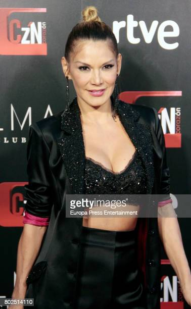 Ivonne Reyes attends 'Corazon' TV Programme 20th Anniversary at Alma club on June 27 2017 in Madrid Spain