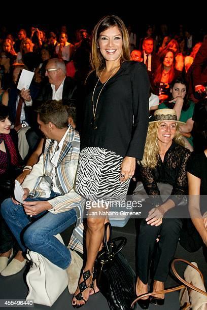 Ivonne Reyes attends Mercedes Benz Fashion Week Madrid at Ifema on September 15 2014 in Madrid Spain