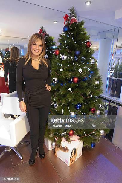 Ivonne Reyes attends Punto Glamour beauty center opening on December 14 2010 in Madrid Spain
