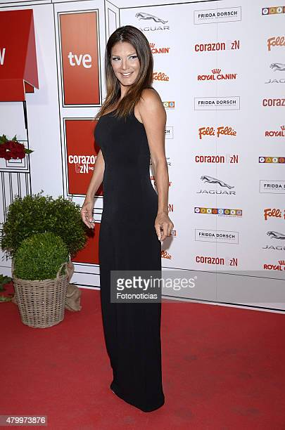 Ivonne Reyes attends the 2015 Corazon Solidario Awards at the Miguel Angel Hotel on July 8 2015 in Madrid Spain