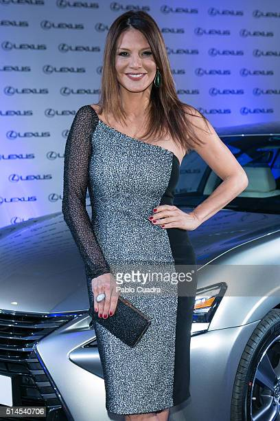 Ivonne Reyes attends the presentation of Bertin Osborne as new ambassador of Lexus on March 9 2016 in Madrid Spain