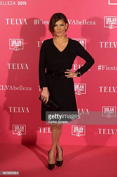 Ivonne Reyes attends the 'Telva' Beauty Awards 2015 at the Palace hotel on February 2 2015 in Madrid Spain