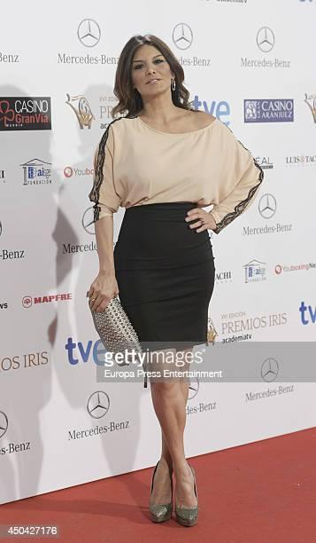 Ivonne Reyes attends XVI Iris Awards 2014 gala on June 10 2014 in Madrid Spain