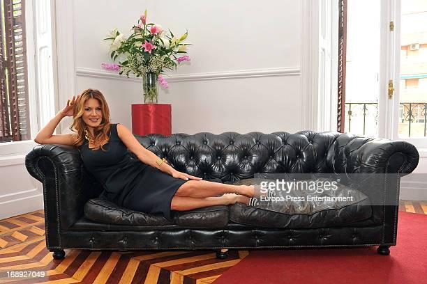 Ivonne Reyes presents Her Perfum 'IR' at Santa Barbara Palace on May 16 2013 in Madrid Spain