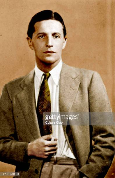Ivor Novello portrait of the Welsh singer actor in 1935 15 January 1893 6 March 1951