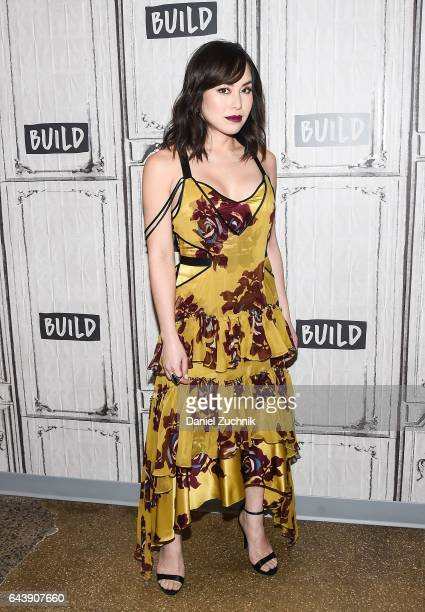Ivory Aquino attends the Build Series to discuss the show 'When We Rise' at Build Studio on February 22 2017 in New York City