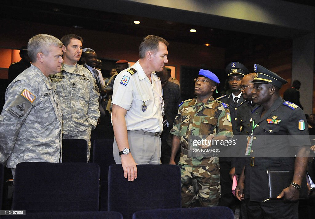 Ivory Coast Chief of Staff General Soumaila Bakayoko ...