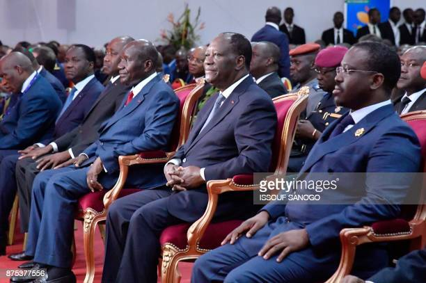 Ivory Coast Minister for Agriculture Mamadou Sangafoua Coulibaly Ivory Coast Prime Minister Amadou Gon Coulibaly Ivory Coast Vice President Daniel...