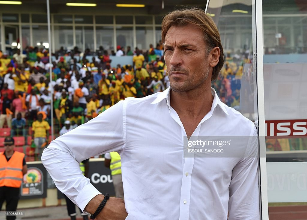 Ivory Coast's coach <a gi-track='captionPersonalityLinkClicked' href=/galleries/search?phrase=Herve+Renard&family=editorial&specificpeople=2789238 ng-click='$event.stopPropagation()'>Herve Renard</a> attends the 2015 African Cup of Nations group D football match between Ivory Coast and Mali in Malabo on January 24, 2015.