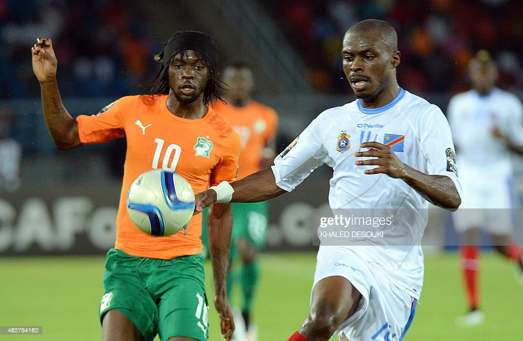 Democratic Republic of the Congo v  Ivory Coast - 2015 Africa Cup of Nations: Semi-final 1