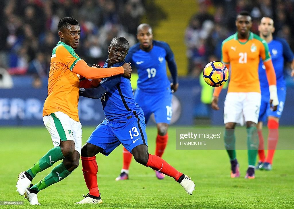 FBL-WC-2018-FRA-CIV-FRIENDLY : News Photo