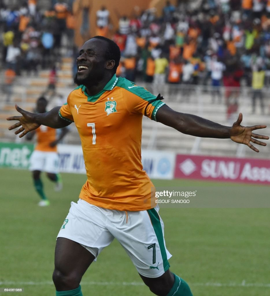 Ivory Coast s National football team forward Seydou Doumbia