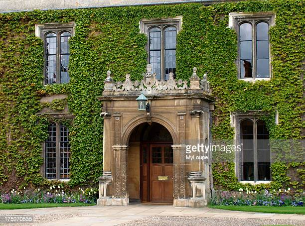 Ivy covered building part of Trinity College Cambridge