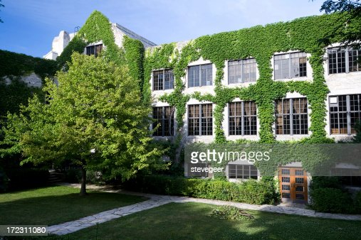 Ivy Covered University Building