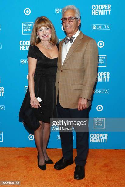 Ivy Kushner and Fred Kushner attend the 2017 National Design Awards at the Cooper Hewitt Smithsonian Design Museum on October 19 2017 in New York City