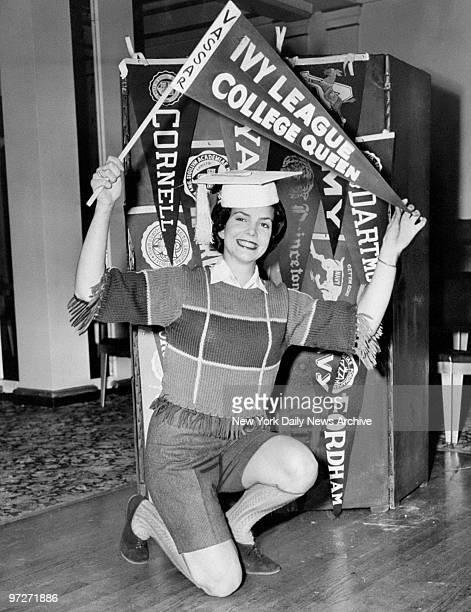 Ivy League Queen of 1960 is Vassar College freshman Judy McGuire