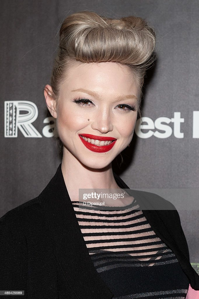 Ivy Levan attends the after party for the 25th Anniversary concert for the Rainforest Fund at the Mandarin Oriental Hotel on April 17, 2014 in New York City.