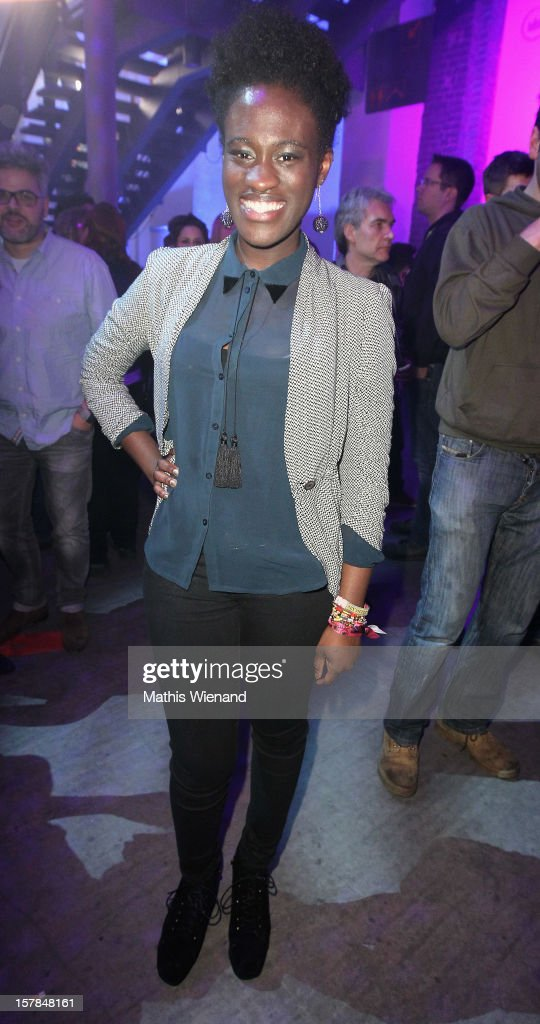 Ivy Quainoo attends the '1Live Krone' at Jahrhunderthalle on December 6, 2012 in Bochum, Germany.