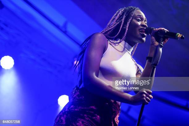 Ivy Quainoo performs at the Spring Ball Frankfurt 2017 on March 4 2017 in Frankfurt am Main Germany