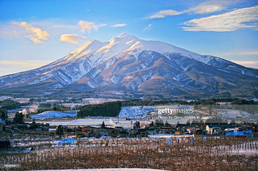 Iwaki Mountain and Apple farms