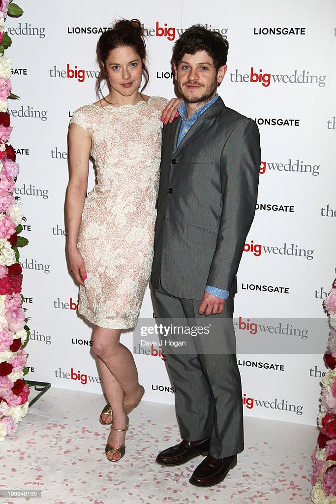 Iwan Rheon attends a special screening of 'The Big Wedding' at The Mayfair Hotel on May 23, 2013 in London, England.