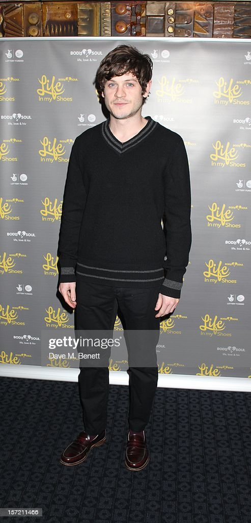 Iwan Rheon attends the Undefeated UK Film Premiere on November 29, 2012 in London, England.