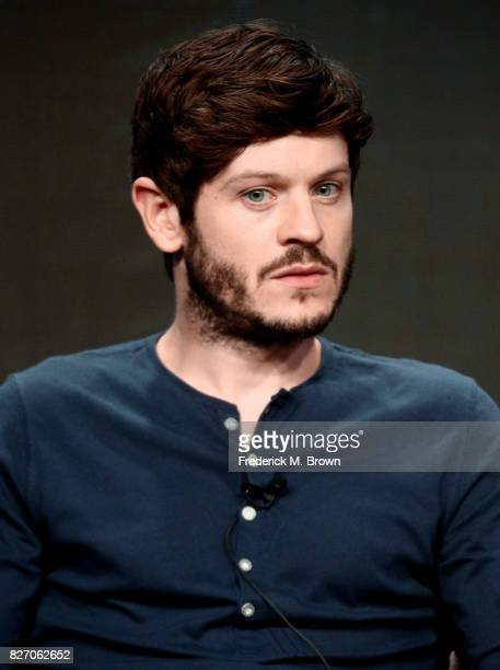 Iwan Rheon of 'Inhumans' speaks onstage during the Disney/ABC Television Group portion of the 2017 Summer Television Critics Association Press Tour...