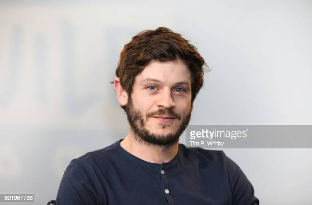 Iwan Rheon poses for a photo after talking about his acting roles in television shows Riviera and Inhumans at Build LDN at AOL London on June 27 2017...