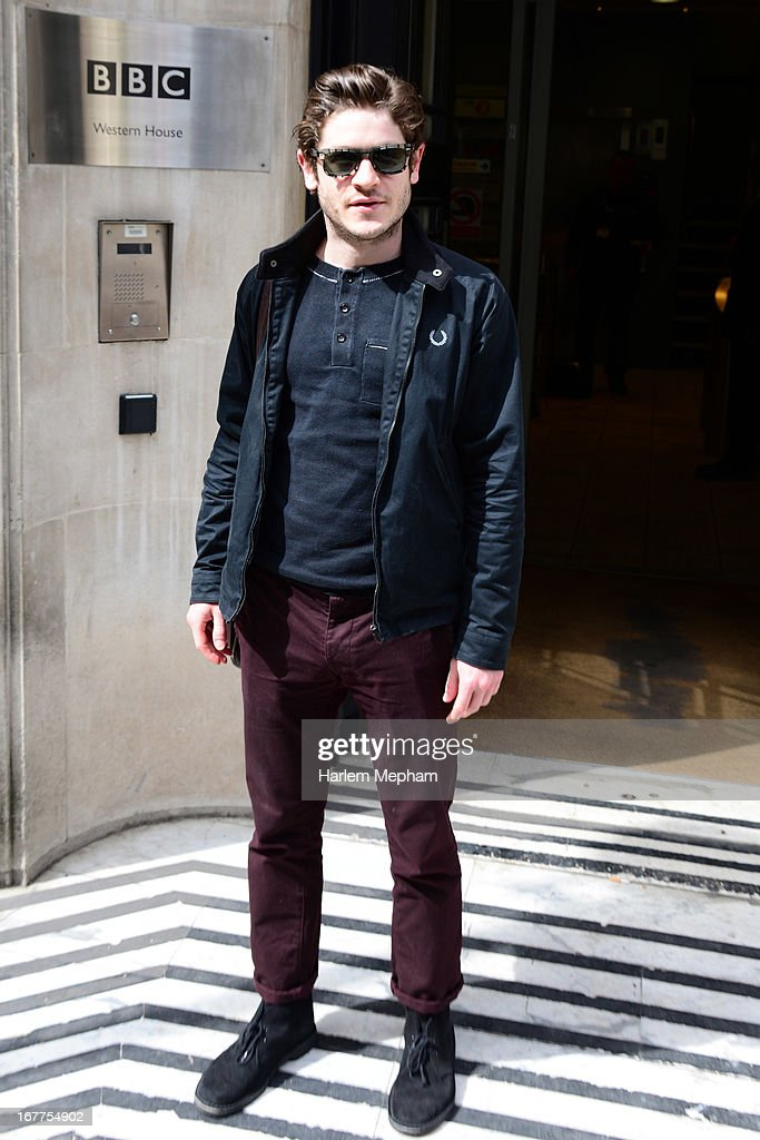 Iwan Rheon sighted at BBC Western House on April 29, 2013 in London, England.