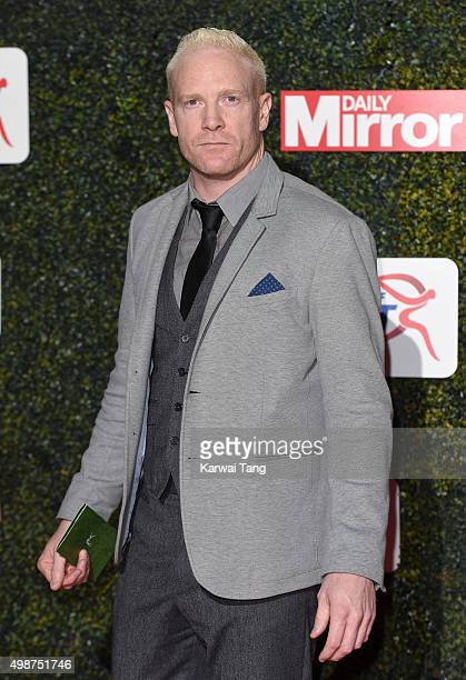 Iwan Thomas attends the Daily Mirror Pride Of Sport Awards at Grosvenor House on November 25 2015 in London United Kingdom