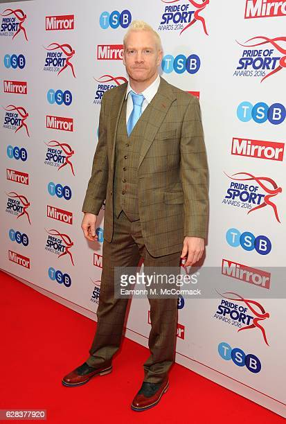 Iwan Thomas attends the Daily Mirror's Pride of Sport awards at The Grosvenor House Hotel on December 7 2016 in London England