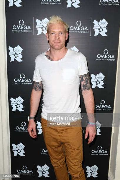 Iwan Thomas attends the launch of OMEGA House on July 28 2012 in London England