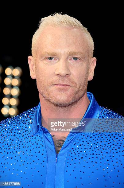 Iwan Thomas attends the red carpet launch of ' Strictly Come Dancing 2015' at Elstree Studios on September 1 2015 in Borehamwood England