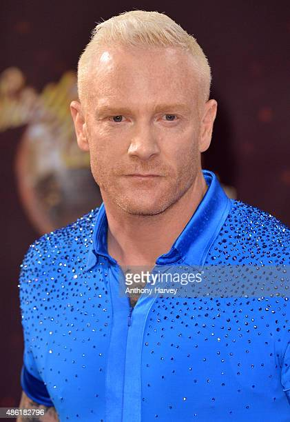 Iwan Thomas attends the red carpet launch of 'Strictly Come Dancing 2015' at Elstree Studios on September 1 2015 in Borehamwood England