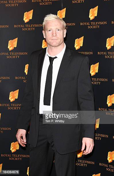 Iwan Thomas attends the RTS Programme Awards at Grosvenor House on March 19 2013 in London England