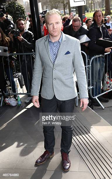 Iwan Thomas attends the TRIC Awards at Grosvenour House Hotel on March 10 2015 in London England