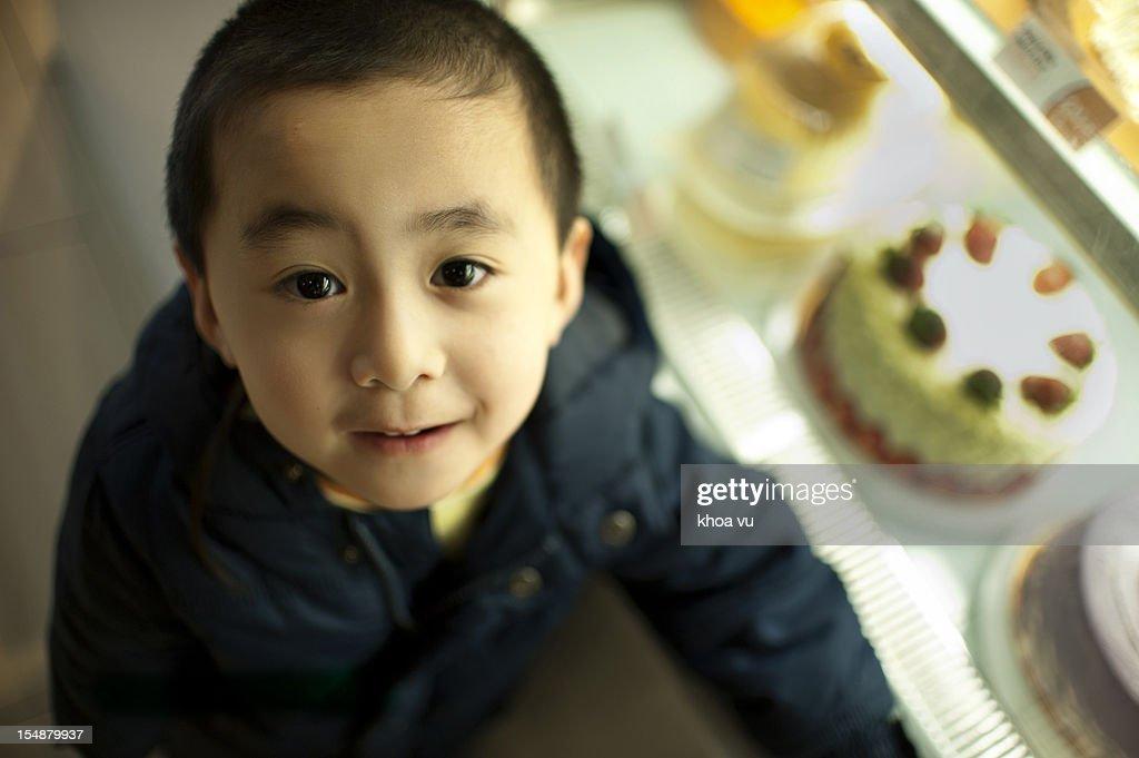 Iwant them cake : Stock Photo