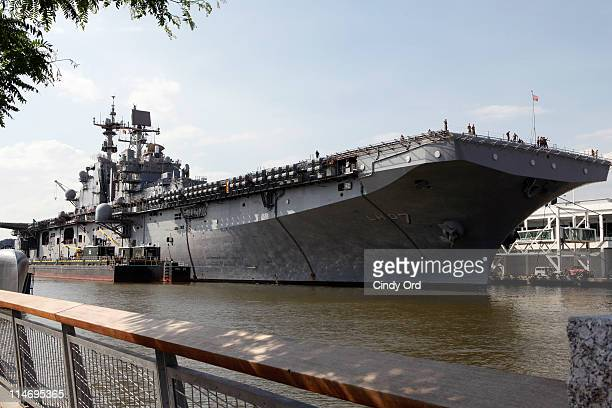 Iwo Jima at Pier 88 on May 25 2011 in New York City
