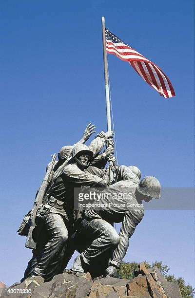 Iwo Jima War Memorial by Felix W de Weldon Arlington Virginia