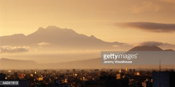 Ixtaccihuatl Volcano : Stock Photo