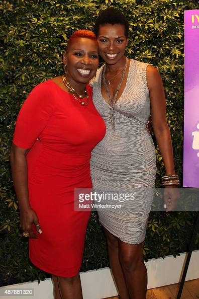 Iyanla Vanzant and Vanessa Williams attend Iyanla Vanzant's meet and greet for OWN's 'Iyanla Fix My Life' at the OWN Offices at The Lot on September...